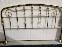 Brass plated headboard size for Queen Boyds, 20841