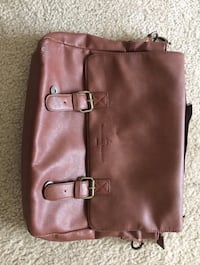 Brown Leather Lap Top Bag Washington, 20032