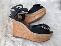 BRAND NEW WITH TAG WEDGE SANDALS SIZE 6 Laval, H7P 1Z7