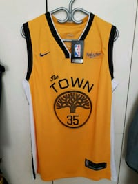 Golden State warriors the town Kevin Durant jersey