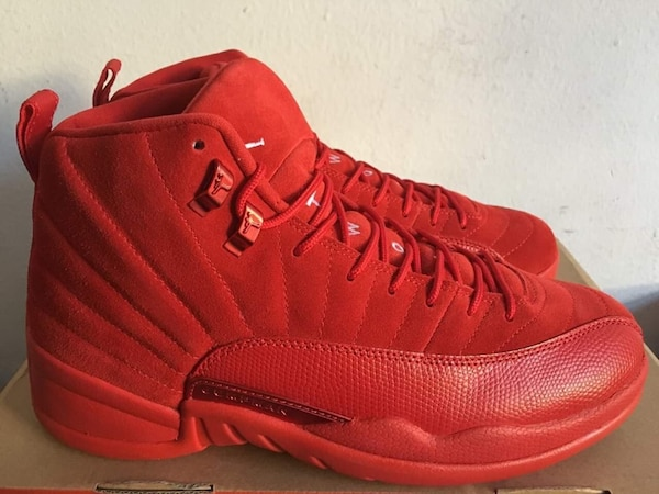 79563bb7b94d Used pair of red Air Jordan 12 s for sale in Stone Mountain - letgo