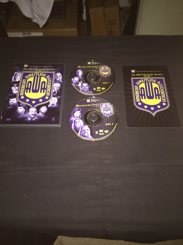 Pro Wrestling (WWE / WCW / AWA) DVD Collection All Pre-Owned & Tested c79b3f90-caf5-4823-8d67-35979e17d514