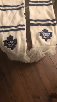 Maple scarf given at leaf game not sold st maple leaf shop  Toronto, M5S 2J2