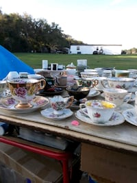 Old Tea cups and saucers