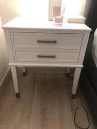 Wooden bedside stand, nearly new  San Francisco, 94103