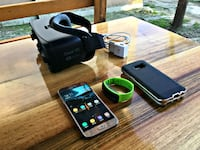 Samsung Galaxy S7 Gold Renk Gear Vr + Gear Fit 1