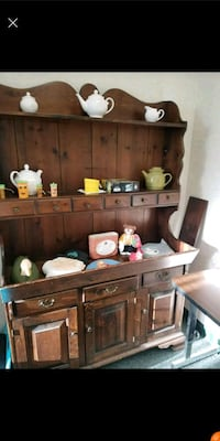 brown wooden cabinet with shelf Middlebury, 06762