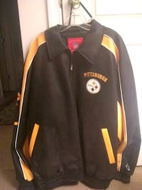 Pittsburgh Steelers NFL Pro Player Leather Jacket Hanover, 17331