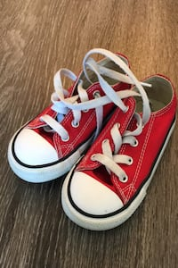 Converse AllStar Red Toddler Size 8 Arlington, 22202