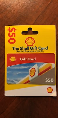 Shell Gift Card New York, 10036