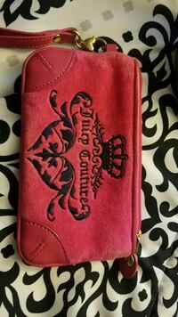 Pink Juicy Couture Wristlet Franklin, 53132