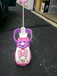 Minnie mouse ride onhandle for parents push Columbus, 43204