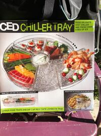 Iced chiller tray 37 km