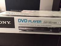 SONY DVD player DVPNS718H new in box Montréal, H3C