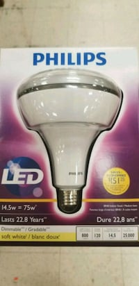 Brand new Philips LED light 75W Dimmable Toronto