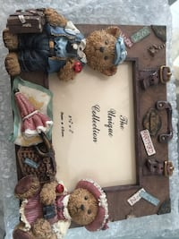 The Unique Collection Set of Frames with Teddy Bear and Puppy Sykesville, 21784