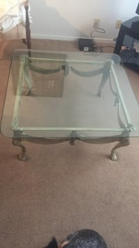 Glass coffee table with matching table Waco, 76712
