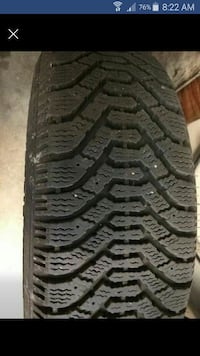 4 winter tires and rim 205 75 14  Mississauga, L4T