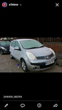 Nissan - note - 2006  null, E1 2LY
