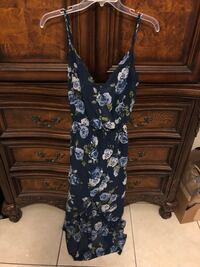 Blue Floral Maxi Dress Cathedral City, 92234