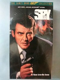 007 The Spy Who Loved Me vhs