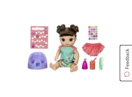 Baby alive potty time doll