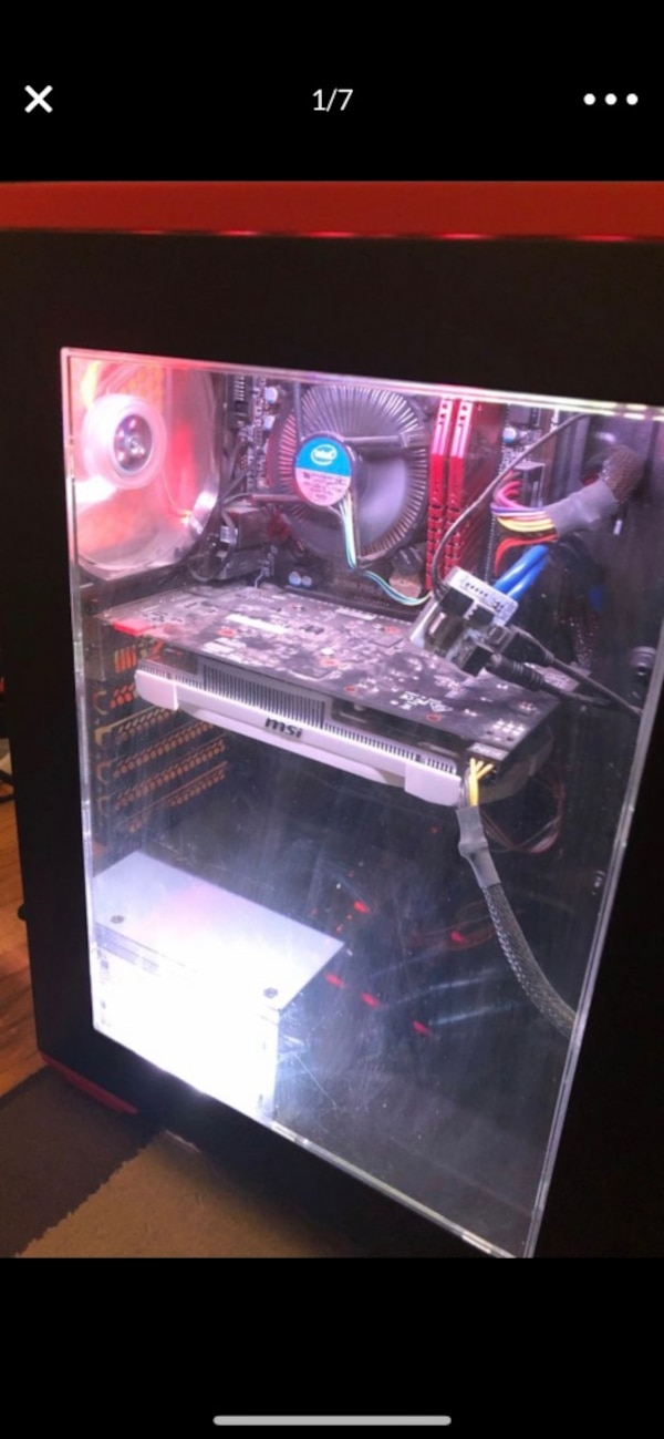 Gaming pc and accessories