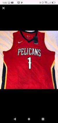 New Orleans Zion Pelicans Williamson Basketball Jersey
