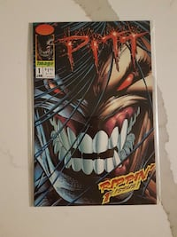 Pitt first issue Image comic Toronto, M5B