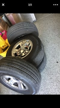 Dodge Ram Rims and brand new tires Buckeye, 85326