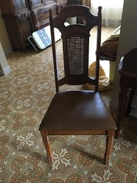 brown wooden framed brown padded chair Laval, H7G