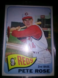 Reds Pete Rose baseball player trading card Albuquerque, 87121