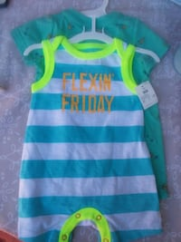 blue and green stripe tank top Shafter, 93263