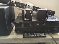 Yamaha HTR-3063 Sound System (sound bar, receiver, 2 speakers, and subwoofer) Arlington, 22202