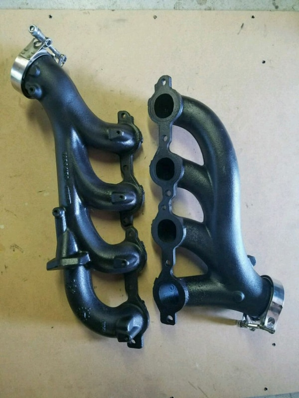 CHEVY LS TRUCK TURBO Manifolds with V-band clamps