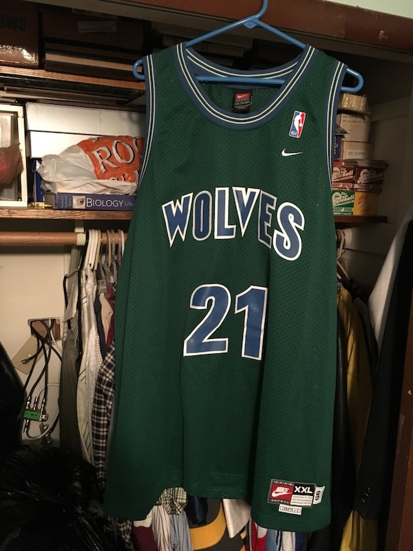 brand new 5c970 4cd4c men's Minnesota Timberwolves 21 jersey shirt