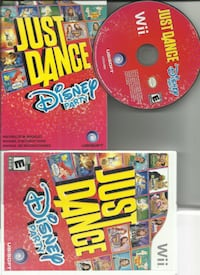 Just Dance Disney Party (Nintendo Wii, 2012) preowned   (ref # max 3vg/eb) Newmarket