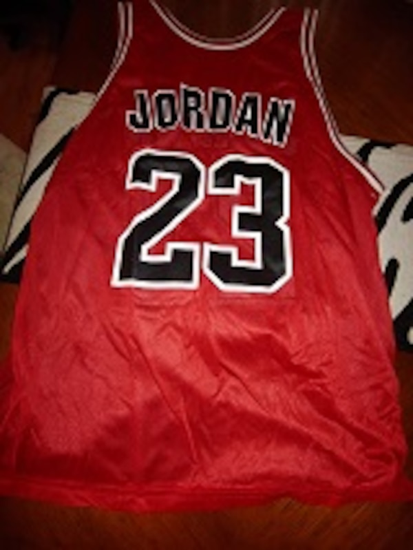 new arrival 89acf 2a793 MICHAEL JORDAN VINTAGE REVERSIBLE JERSEY BY CHAMPION