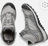 Pair of gray Keen Boots Brand New Size 5.5 Beaverton, 97006