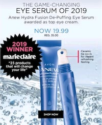 Anew Hydra Fusion De-Puffing Eye Serum Mississauga, L5R 3S9