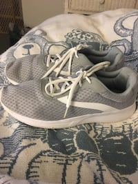 pair of gray-and-white Nike running shoes Springfield, 22153