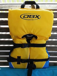 DBX infant life vest. Coast guard approved.