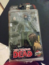 The walking dead plastic figure