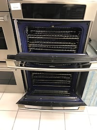 Stainless steel double door Electrolux oven Pompano Beach, 33069