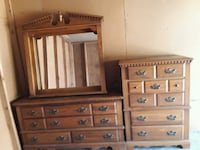 Dresser with mirror and Chester Drawer Gastonia, 28056