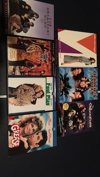 Seven DVD movies and tv show sets!