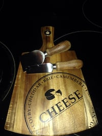 brown wooden cheese board