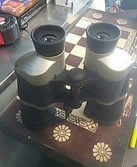 black and silver binoculars 1613 mi