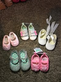 Infant/toddler shoes $2-$15 Newport News, 23602