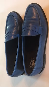 pair of blue leather loafers Baltimore, 21201
